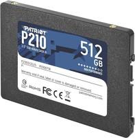 Диск SSD 512 Gb Patriot P210 P210S512G25 (SATA III, TLC 3D-NAND)