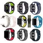 Ремешок для Apple Watch Series 5, 4, 3, 2, 1 Series; 42mm, 44mm Спортивный Sport N