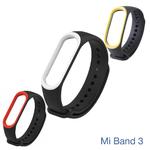 Ремешок браслет для Xiaomi Mi Band 4, 3 Чёрный