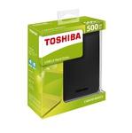 "Внешний жесткий диск 2.5"" 500Gb Toshiba Canvio Basics"