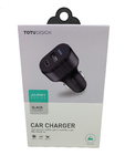 Автомобильная зарядка TOTU Journey CC07 (USB type C 3A, USB 2.4A)