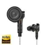 Наушники трехдрайверные UiiSii BA-T9 Hybrid Triple Drivers Knowles Balanced Armature Surround Sound Hi-Res Earphones