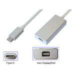 Переходник USB type C (Thunderbolt 3) to Mini DisplayPort