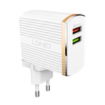 Зарядное устройство LDNIO A2502Q Quick Charge 3.0 USB Travel Charger Adapter