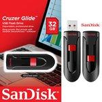 Флешка USB 32 Gb SanDisk Cruzer Glide (SDCZ60-032G-B35)