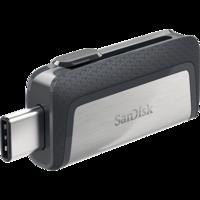 Флешка SanDisk Ultra Dual Drive USB Type-C 64Gb (USB Standart A + USB-C)