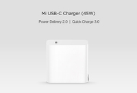 Блок питания Xiaomi Mi USB-C 45W (CDQ02ZM)