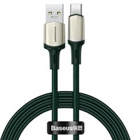 Кабель Baseus Support VOOC Cafule Cable 5A USB Type-C to USB-A